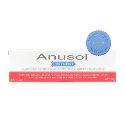 Buy Anusol Hemorrhoidal Ointment 50G