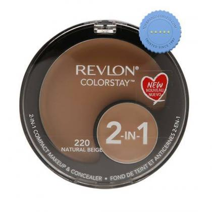 Buy Revlon Colorstay 2 in 1 Compact Makeup and Concealer Natural Beige