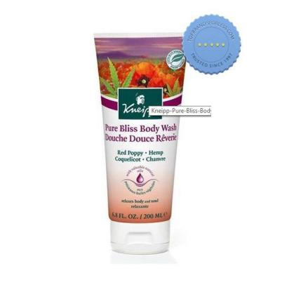 Buy Kneipp Pure Bliss Body Wash Red Poppy And Hemp 200ml online -