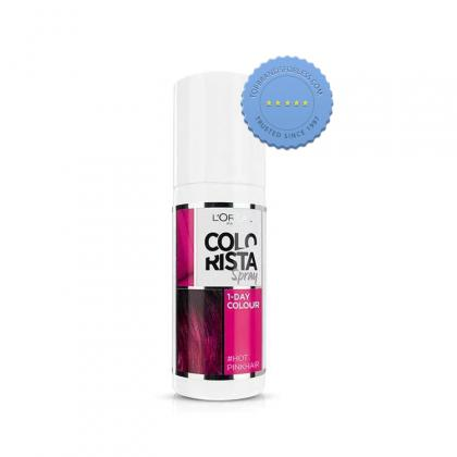 Buy Loreal Colorista Semi Permanent Hair Colour Hot Pink - Prompt Dispatch