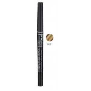 Buy designer brands retractable pencil gold -