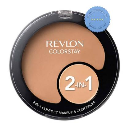 Buy Revlon Colorstay 2 in 1 Compact Makeup and Concealer Medium Beige