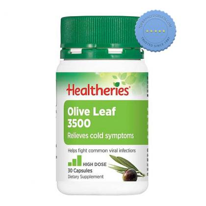 Buy Healtheries Olive Leaf 3500 30 Tablets