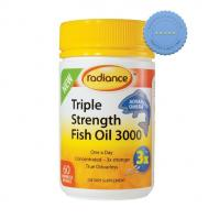 Buy Radiance Triple Strength Fish Oil 60 Odourless Softgels -