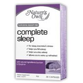 Buy natures own complet sleep capsules 60 -