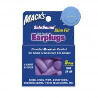 Buy Macks Slim Fit Soft Foam Ear Plugs 5 Pairs - Prompt Dispatch