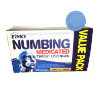 Buy Ethics Numbing Medicated Throat Lozenges 24 Honey Lemon-