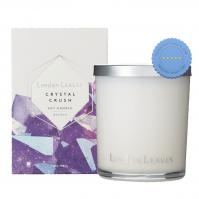 Buy Linden Leaves Crystal Crush Amethyst Soy Candle 300g - Prompt Dispatch