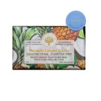 Wavertreee and London Natural Products Pineapple Coconut and Lime Soap 200g