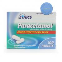 Buy Ethics Paracetamol 500mg 100s