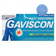 Buy Gaviscon Cool Peppermint Tablets