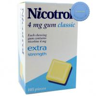 Buy Nicotrol 4mg Classic Gum 105 Pack - Ships Internationally Fast