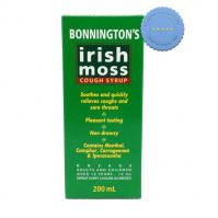 Buy Bonningtons Irish Moss Cough Syrup 200ml
