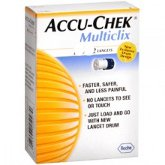Accuchek Multiclix Lancets 24 For Diabetes Monitoring