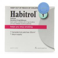 Habitrol transdermal Patches 21MG 7 Pack | Top Brands For Less