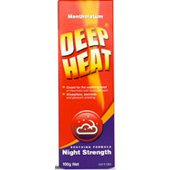 Deep Heat Menthol Rub Night Strength 100g -