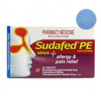 Buy sudafed pe sinus aller pain 24 -