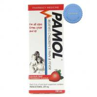 Buy Pamol All Ages Colour Free Strawberry 100ml