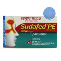 Buy sudafed pe sinus pain tab 48 -