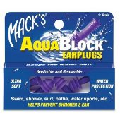 Buy macks aquablock earplugs -