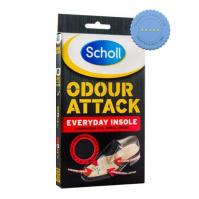 Buy Scholl Odour Attack Everyday Insole -