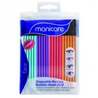 Buy manicare 23025 disposable mascare brushes pk -