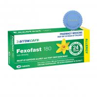 Buy fexofast tablets 180mg 30 -