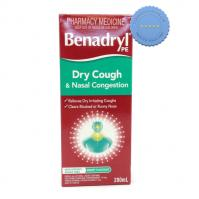 Buy benadryl pe dry cough nc 200ml -