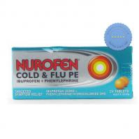 Buy nurofen pe cold flu tablets 24s -