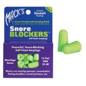Buy Macks Ear Plugs Snore Black 32db