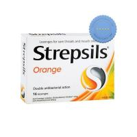 Buy Strepsils Orange Lozenges 16s -