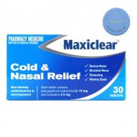 Buy maxiclear cold nasal relief 30 -