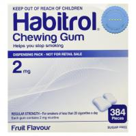 Habitrol Gum 2mg Fruit 384 Pieces - Fast International Shipping