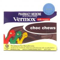 Buy Vermox Chocolate Chews x 6 Tablets -