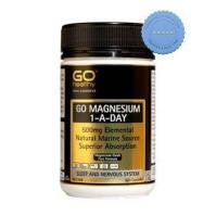 Buy go healthy magnesium 1 day 500mg 120 cap -