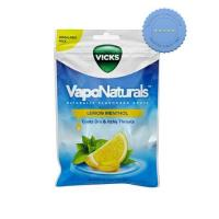 Buy vicks vaponaturals naturally flavoured drops lemon menthol 19s -