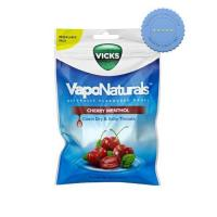 Buy vicks vaponaturals naturally flavoured drops cherry menthol 19s -
