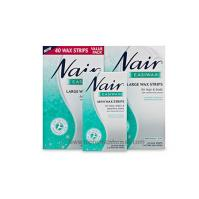 Buy nair easiwax large wax trips value pack -