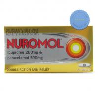 Buy Nuromol Ibuprofen Paracetamol Double Action Pain Relief