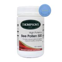 Thompsons High Potency Bee Pollen 500 120 Capsules
