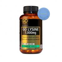 Buy Go Healthy Go Lysine 1000mg 60 Capsules