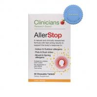 Buy Clinicians Allerstop 30 Chewable Tablets