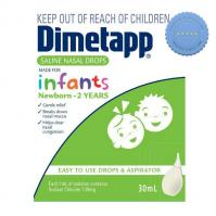 Buy dimetapp saline nasal drops 0-2 years 30ml + aspirator