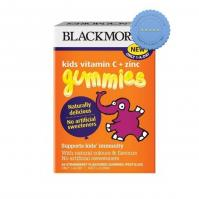 Blackmores Kids Vitamin C Plus Zinc Gummies One a Day 36 Strawberry ed Gummies