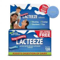 Buy Lacteeze Extra Strength 120 Tablets