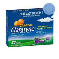 Buy Claratyne Childrens Chewable Tablets Grape Flavoured 30 Tablets