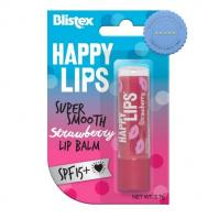 Buy Blistex Happy Lips Strawberry Lip Balm SPF15 3.7g