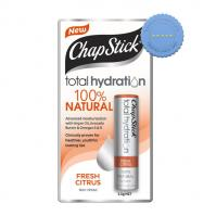 Buy Chapstick Total Hydration 100 Percent Natural Fresh Citrus 3 5 g -