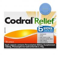 Buy codral relief 6 signs cold and flu 16 ca - Prompt Dispatch