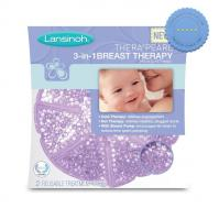 Lansinoh Therapearl 3 in 1 Breast Therapy 2 Reusable Treatment Packs -